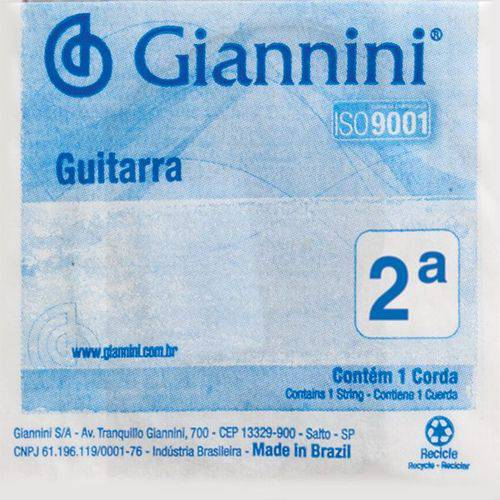 Corda Guitarra Super Light Geegst9.2 Giannini