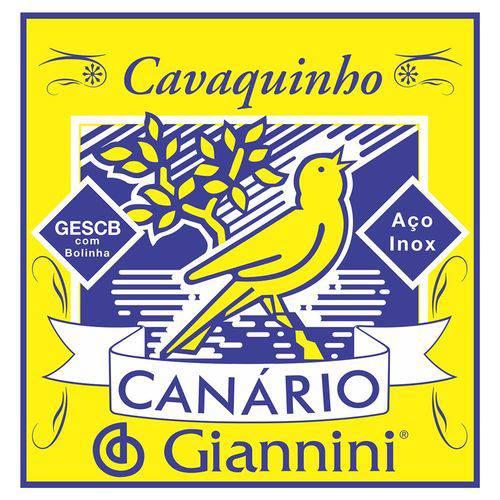 Corda para Cavaco Giannini Gescb Série Canário Bolinha
