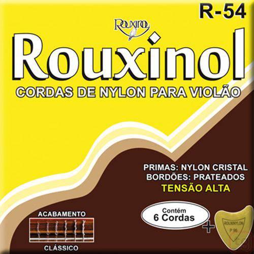 Corda para Violao Rouxinol Nylon R-54 Tensao Alta