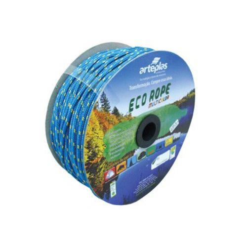 Corda Seda Artesanato Colorida 3mm 400m