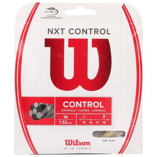 Corda Wilson Nxt Control 16l 1.32mm Natural - Set Individual