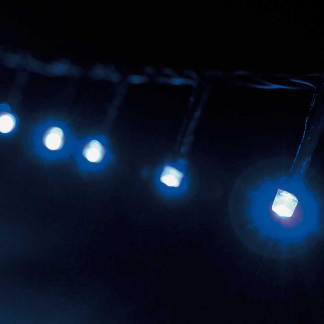 Cordão Luminoso 96 Leds 8 Funções 127v Azul Taschibra Azul