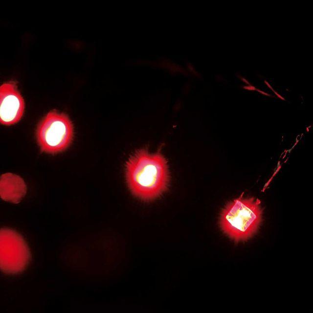 Cordão Luminoso 96 Leds 8 Funções 127V Vermelho Taschibra Vermelho