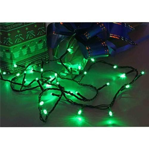Cordão Luminoso 96 Leds Verde 8 Funções 220v Taschibra Verde