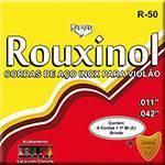 Cordas de Aço para Violão Tradicional com Chenille Colorido - Rouxinol