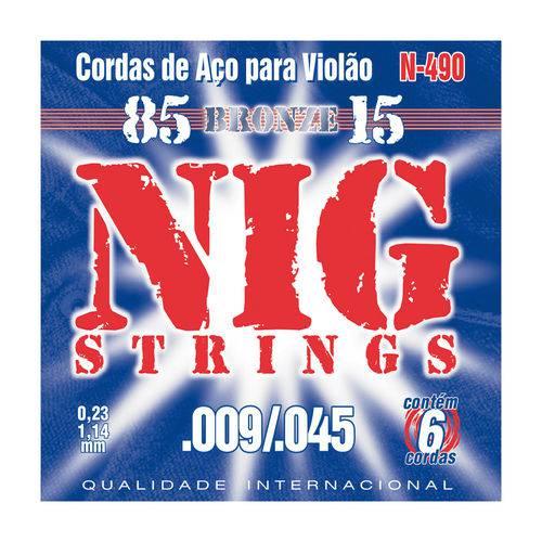Cordas para Violão N490 - Nig