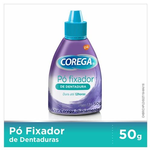 Corega Pó Fixador de Dentadura com 50g
