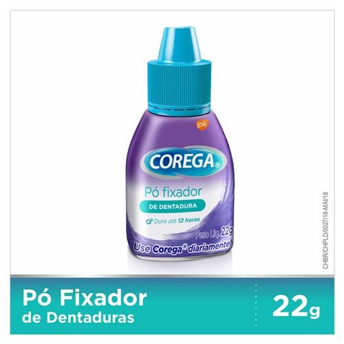 Corega Pó Fixador de Dentadura com 22g