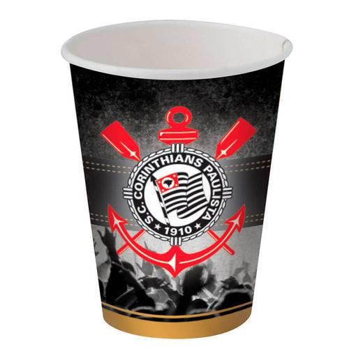 Corinthians Copo Papel C/8 - Festcolor