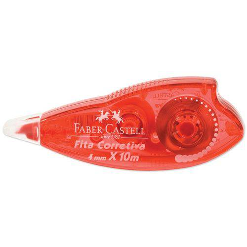 Corretivo Fita 4mmx10m Faber Castell