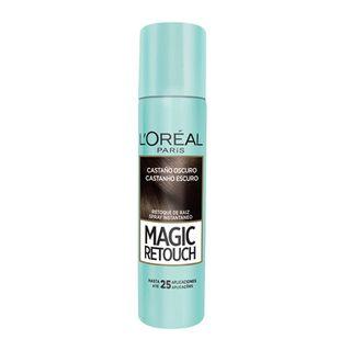 Corretivo Instantâneo L'Oréal Paris - Magic Retouch Castanho Escuro