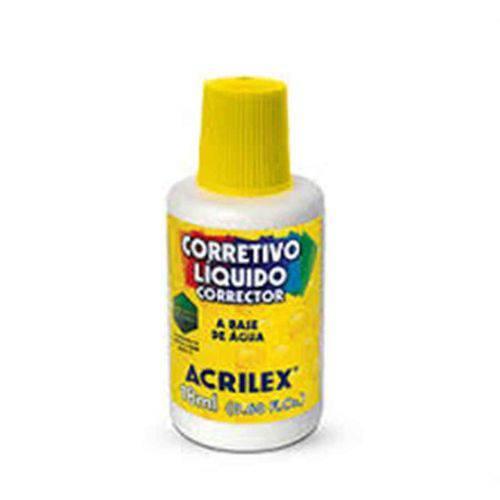 Corretivo Líquido 18 Ml Acrilex
