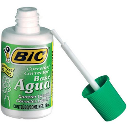 Corretivo Líquido 18ml Aqua 50607/930761 Bic Blister