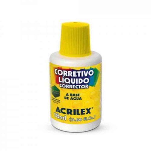 Corretivo Liquido Acrilex 18ml
