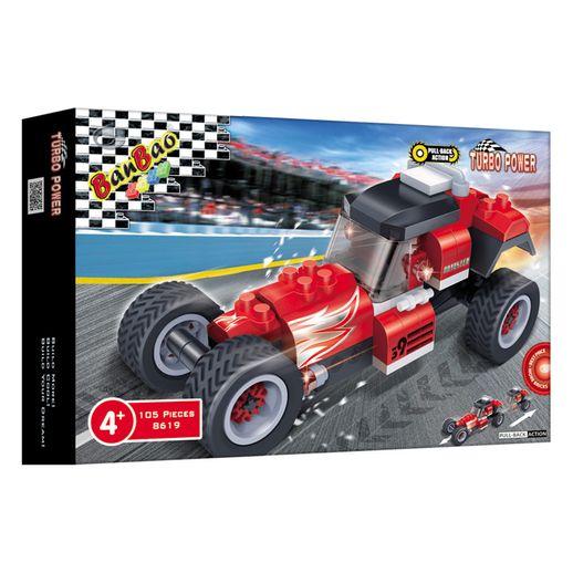 Corrida Carro Roadster 105 Peças - Banbao