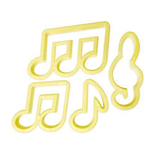 Cort. de Notas Musicais C/4 Pcs