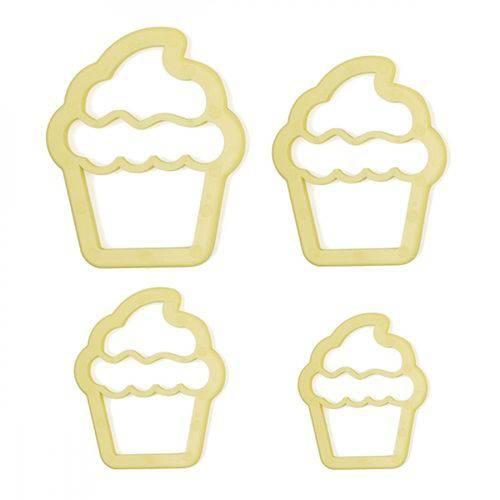 Cortador - Cupcake - 4 Peças - Bluestar