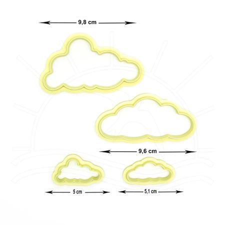 Cortador de Nuvens - Kit com 4 Peças
