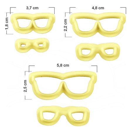 Cortador de Óculos - 3 Kits