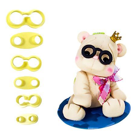 Cortador de Óculos Redondo - 3 Kits