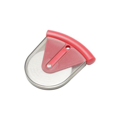 Cortador de Pizza Vermelho em Inox 6701 Lyor