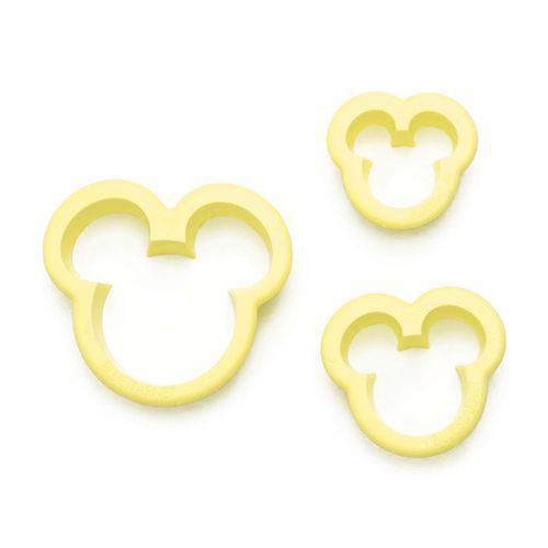 Cortador de Ratinho P C/3 Pçs (Mickey)