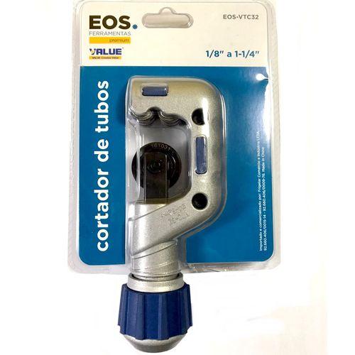 Cortador de Tubos Cobre e Alumínio 1/8 a 1-1/4 Eos Premium Value