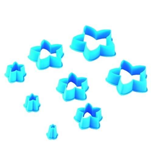 Cortador Estrela com 8 Peças Blue Star