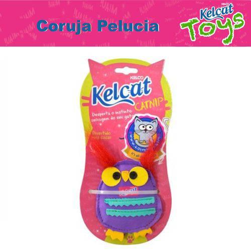 Coruja de Pelucia Kelcat Brinquedo