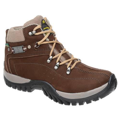 Coturno Adventure Tchwm Shoes em Couro Nobuck