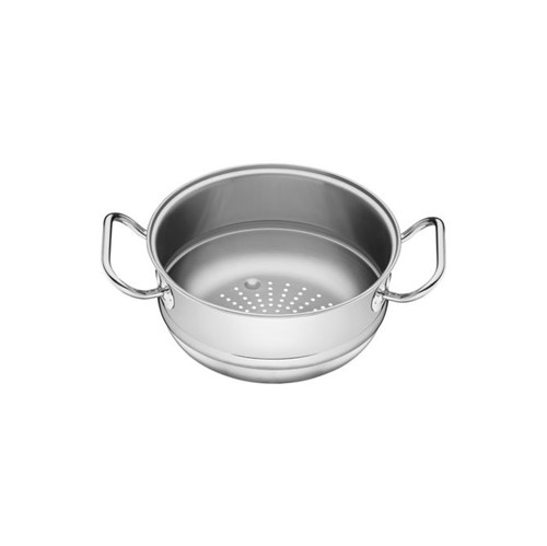 Cozi-vapore Tramontina em Aço Inox com Alça 20 Cm 3,2 L Inox