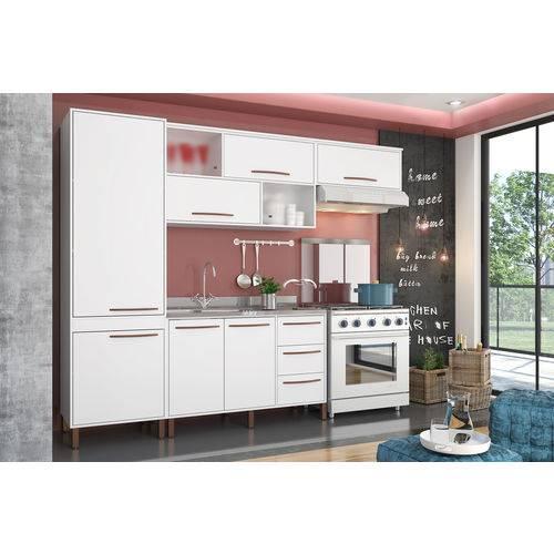 Cozinha Hibisco Branco - Albatroz