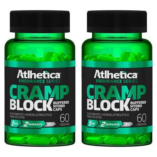 Cramp Block - 2 Un de 60 Cápsulas - Atlhetica