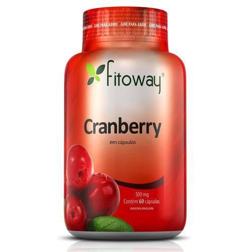 Cranberry 500mg - 60 Cápsulas - Fitoway