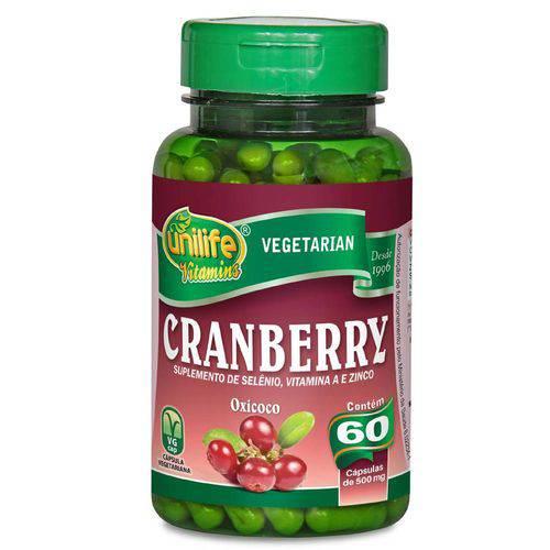 Cranberry 60 Capsulas 500mg Unilife