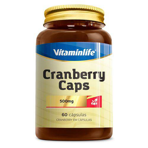 Cranberry Caps 500mg Vitaminlife - 60 Cápsulas