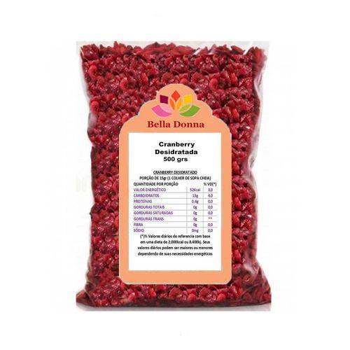Cranberry Fruta Seca Desidratada 500 Grs Importada