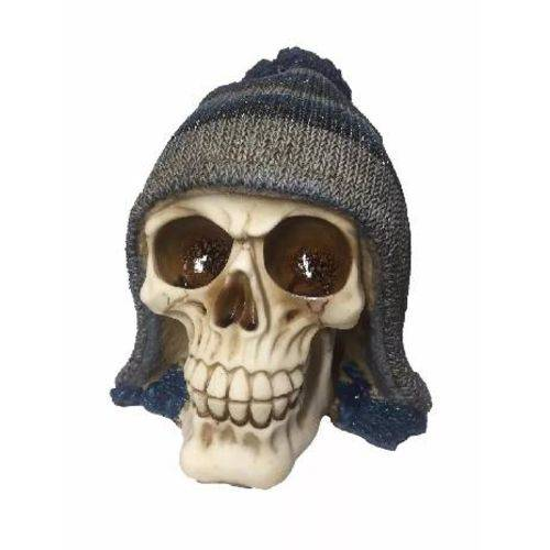 Crânio Caveira com Gorro Halloween