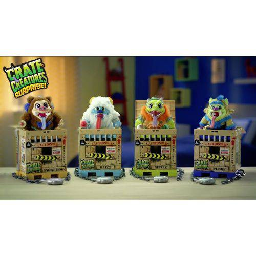 Crate Creatures Surprise Flingers 1 Boneco Sortido! - Candide 4402