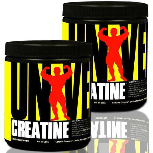 Creatina CREATINE POWDER - Universal Nutrition - 200grs + 200grs