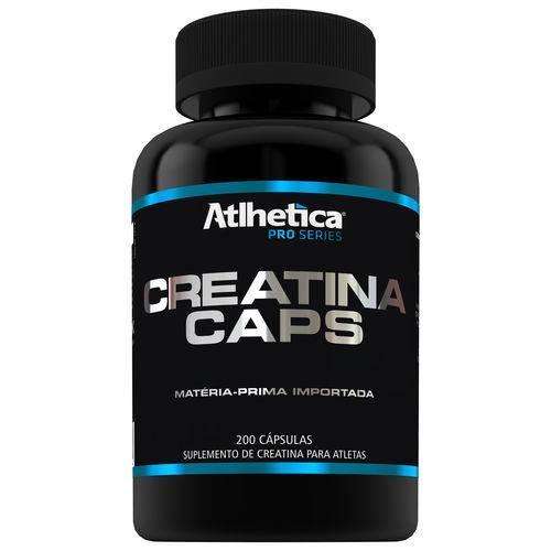 Creatina Pro Series - 200 Caps - Atlhetica Nutrition