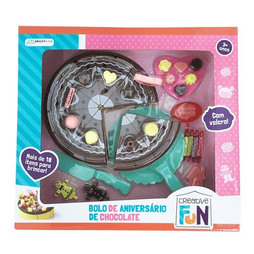 Creative Fun Bolo de Aniversário de Chocolate - BR649
