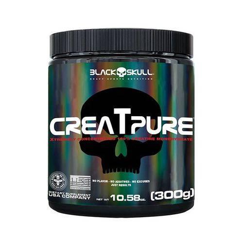 Creatpure 300g - Black Skull Creatina