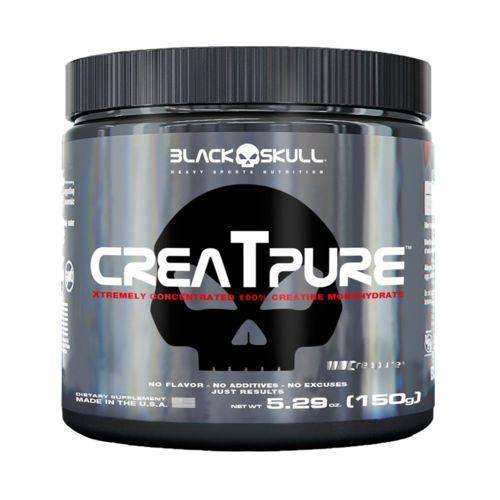 Creatpure 150g - Black Skull Creatina