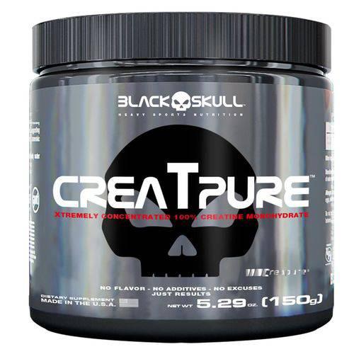 Creatpure (150g) - Black Skull