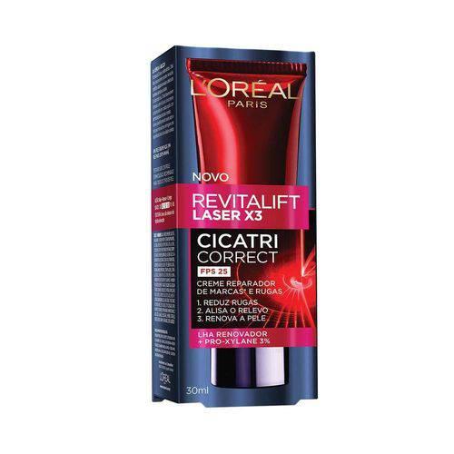 Creme Antirrugas Revitalift Laser X3 Cicatri-correct L'oréal Paris - com 3