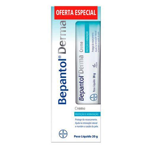 Creme Bepantol de Proteção e Hidratação Derma - 20g