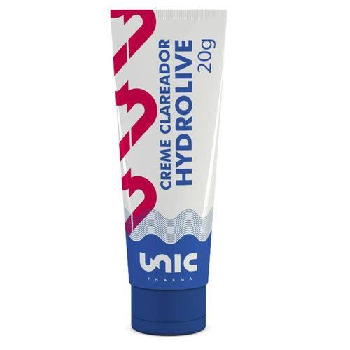 Creme Clareador Hydrolive 20g Unicpharma