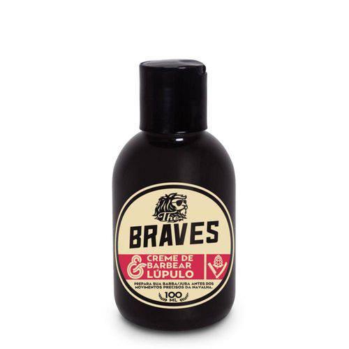 Creme de Barbear Lúpulo - The Braves