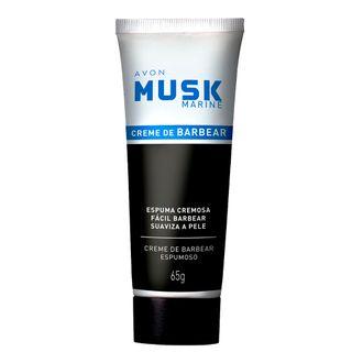 Creme de Barbear Musk Marine - 65 G